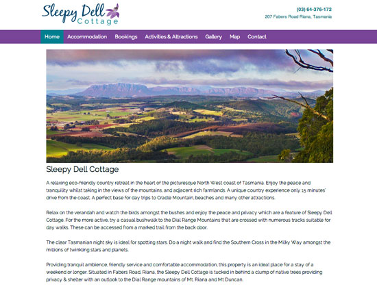 Sleepy Dell screen capture
