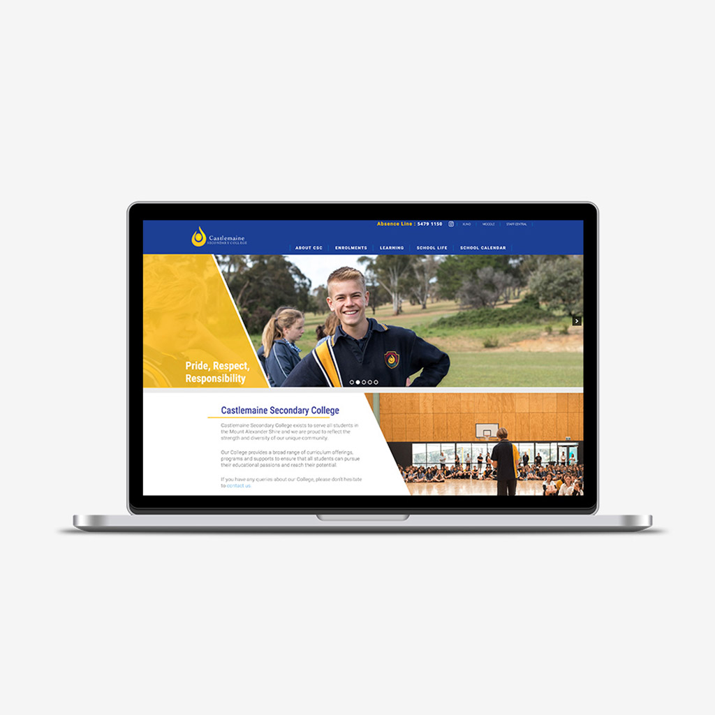 Castlemaine Secondary College Education Website image