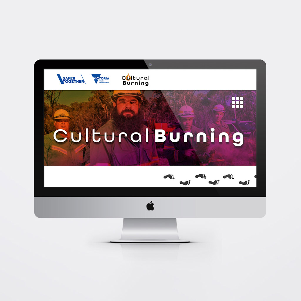 Cultural Burning – DELWP image