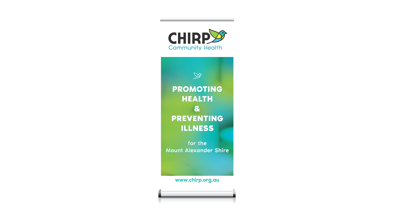 CHIRP-pullup-banner-design